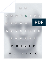 [1996] Do Androids Dream of Electric Sheep? by Philip K. Dick | The inspiration for the films Blade Runner and Blade Runner 2049 | Del Rey