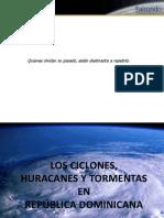Ciclones, Huracanes y Tormentas Desde El 1615