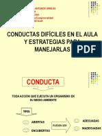 CONDUCTAS DIFICILES EN EL AULA.ppt