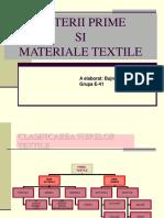 Fibre si fire textile