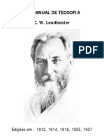 CW Lead Beater - Um Manual de Teosofia [Formato A6]