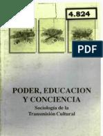 Bernstein Poder Educacion  y Conciencia CIDE