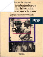 Los Trabajadores en La Historia Latinoamericana. Estudios Comparativos de Chile, Argentina, Venezuela y Colombia