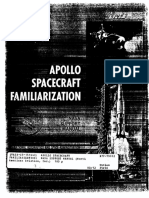 NASA Support Manual Apollo Spacecraft Familiarization Dec 65
