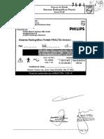 Manual Del Equipo Rayos x Philips Modelo Practix