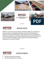 Presentacion General ERTIZA