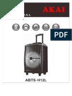 ABTS H12L Romanian Manual.06.03.2017