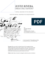 Augusto Rivera, memorias del olvido