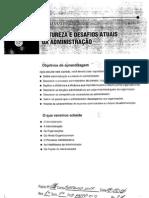 NATUREZA E DESAFIOS ATUAIS DA DMINISTRAÇÃO