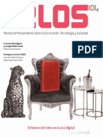 Celaya, (2016),TELOS 104, El Futuro Del Libro en La Era Digital
