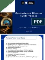 clase 1_Operaciones Mineras Subterráneas