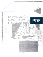 Evaluacion Cuantitativa Evaluacion Cualitativa