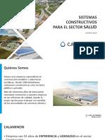 Calaminon - Ppt Sistemas Constructivos Para El Sector Salud