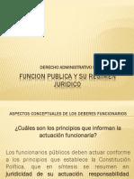 FUNCION PUBLICA Y SU REGIMEN JURIDICO CLASE 1.pptx