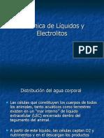 Dinámica de Líquidos y Electrolitos