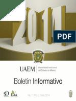 Boletín UAEMEX 2014