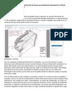 Informe Final Sobre Trabajo de Zonificacion de Areas Urbanizacion Ampliacion La Recta