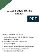 1 Analisis Skl, Ki-kd, Ipk