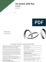 Baseline Switch 2250-SFP Plus