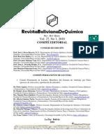 Comite editorial BJC, v.27, n.1, 2010