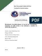 Resistiendo al neoliberalismo en Chile