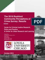 2019 Crime Perception Survey Results