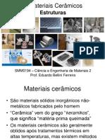 1-Materiais Cerâmicos - Estruturas