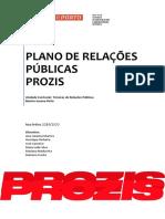 Plano de Relações Públicas-Prozis