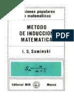 LPDM - Sominski - Metodo de Induccion Mateatica