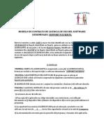 MODELO DE CONTRATO DE LICENCIA DE USO DEL SOFTWARE DENOMINADO.docx