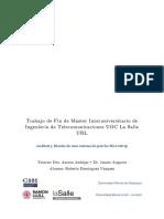 Análisis y diseño de una Antena de Parche Microstrip