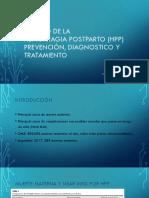 Manejo de La HPP