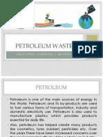 Petroleum Waste