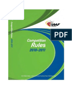 IAAF Competition Rules 2010-2011