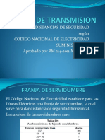 LINEAS DE TRANSMISION DE ALTA TENSION