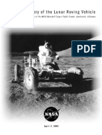 A Brief History of the Lunar Roving Vehicle