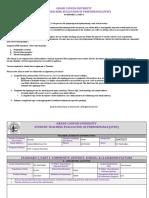 gcu student teaching evaluation of performancestep 1 spd 590