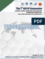 Program Book the 7th JASTIP Symposium 3