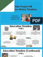 education history timeline