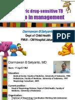 Pediatric Drug Sensitive TB