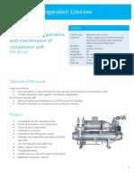 PTK REF36 Compressor Units Course Description