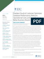 IDC ExaCC Customer Interviews--Complete Version