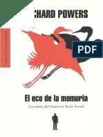 Richard Powers - El Eco de La Memoria