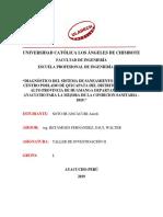 Informe Final de Taller de Investigacion II
