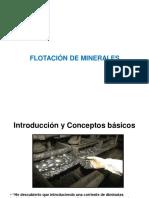 Flotación de minerales clase 9