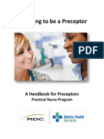 Preparing to be a Preceptor