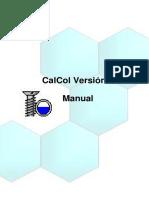 manual cal col