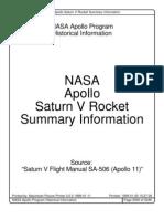 Saturn V Summary Information