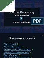 Harrower -- 1 How the newsroom works.ppt