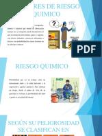 Factores de Riesgo Quimico